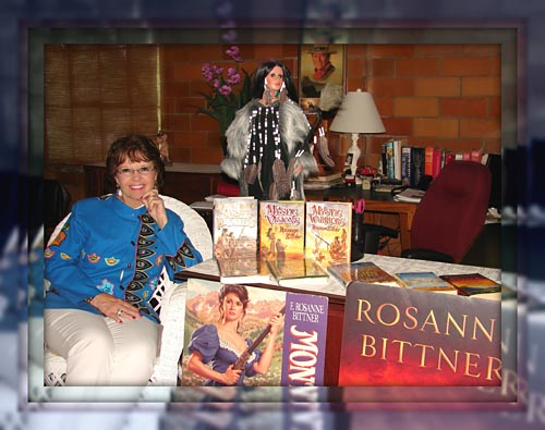 Rosanne and some of her passions.