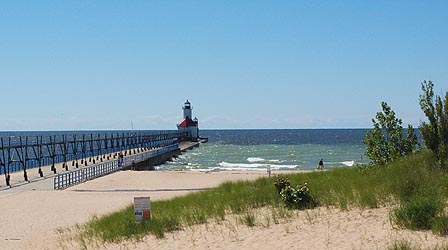 The St. Joseph MI lighthouse, which is just a few miles from my house.
