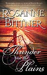 Cover for Sourcebooks trade paperback edition of THUNDER ON THE PLAINS